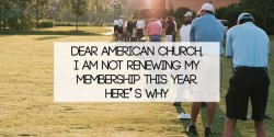 Dear American, I Am Not Renewing My Membership This Year. Heres Why.
