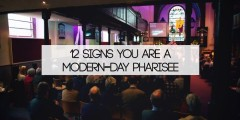 12 signs of a modern-day Pharisee