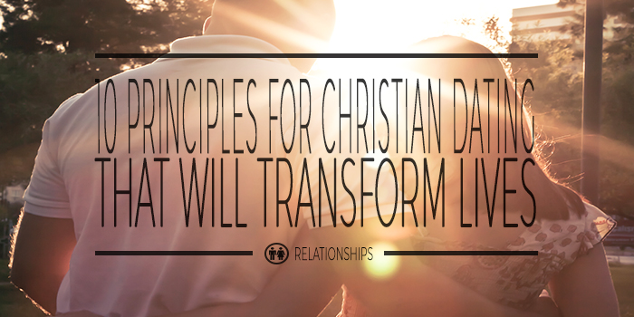 Christian principles for dating