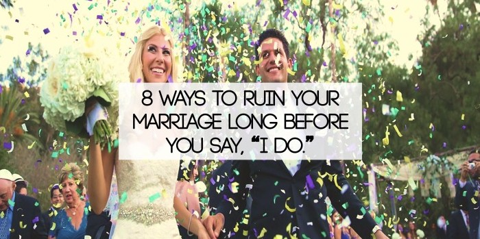 ruin your marriage