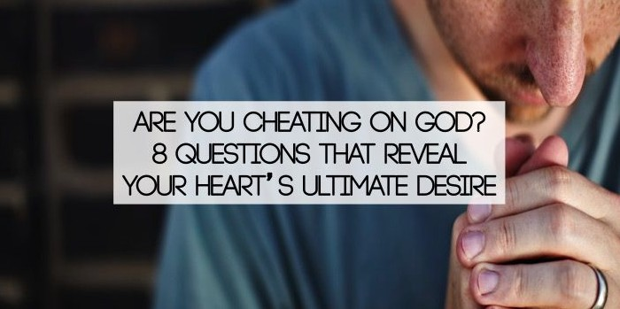 blog post on cheating on God